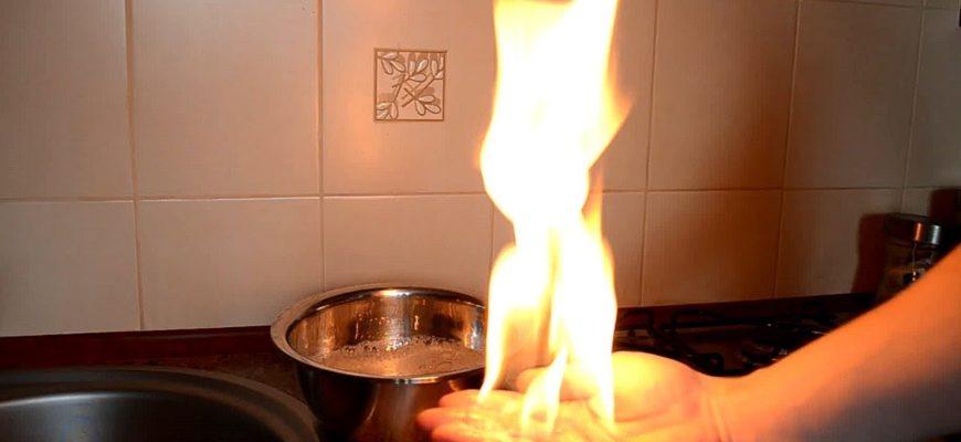 Ожог руки - что делать?