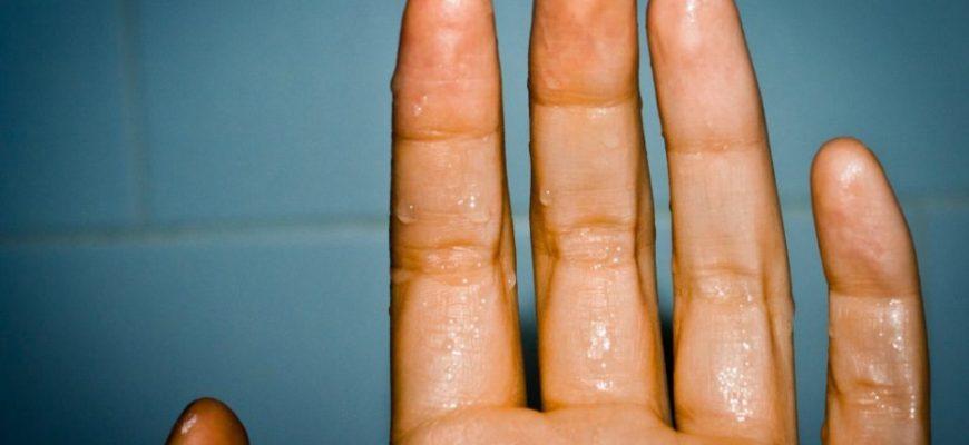 Когда потеют руки - что делать?