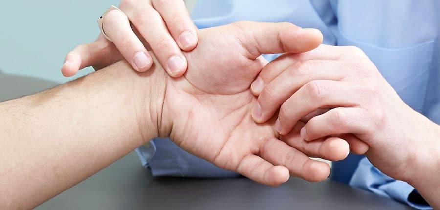 Боль в суставе большого пальца руки при сгибании пальца нимесил при воспалении суставов